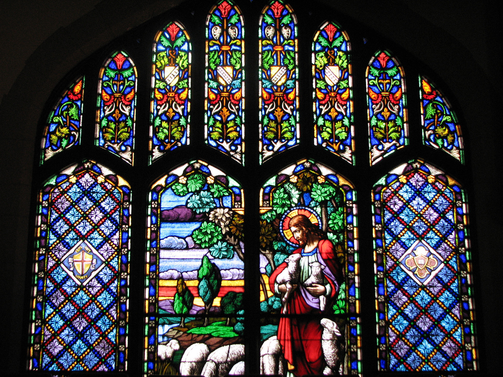 Pagan Way Stained Glass Windows